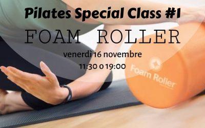 Pilates – Lezione speciale con Foam Roller