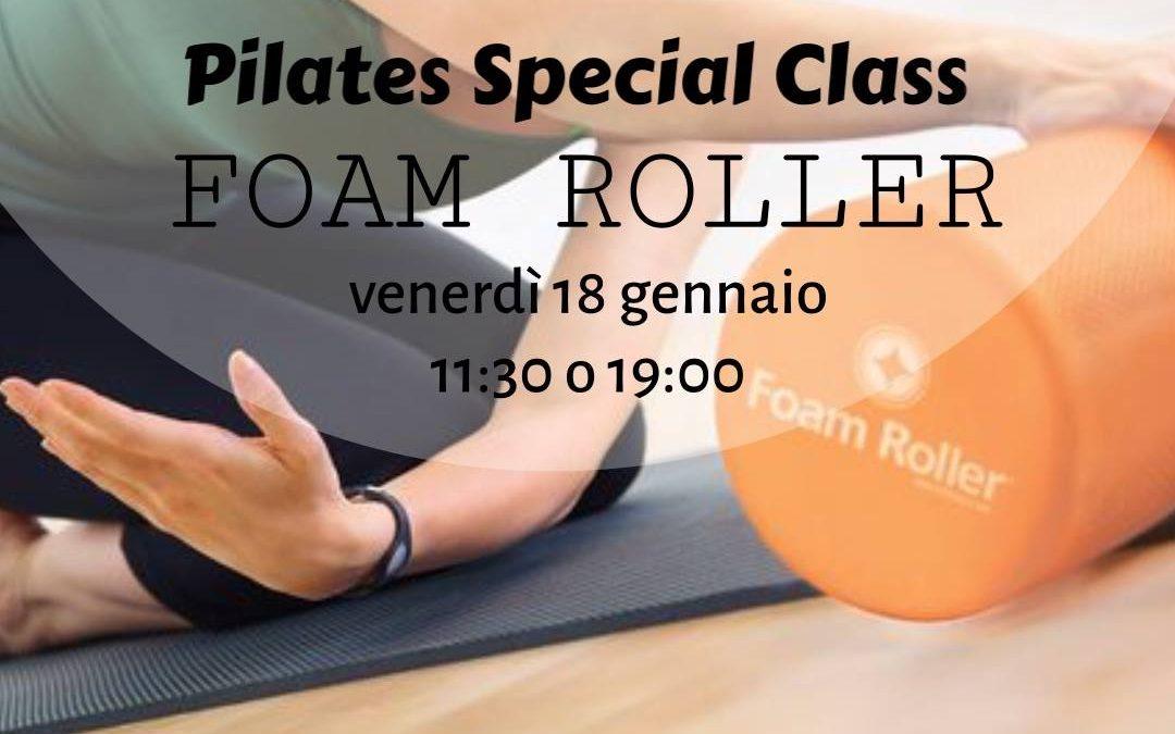 Pilates – Lezione speciale con Foam-roller