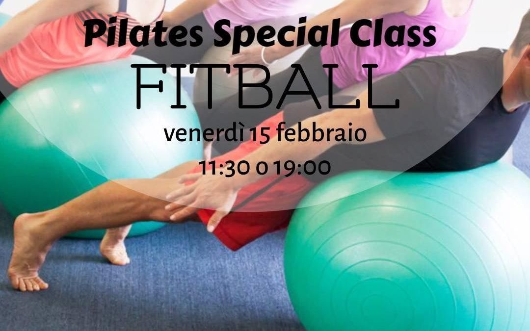 Pilates – Lezione Speciale con la Fitball