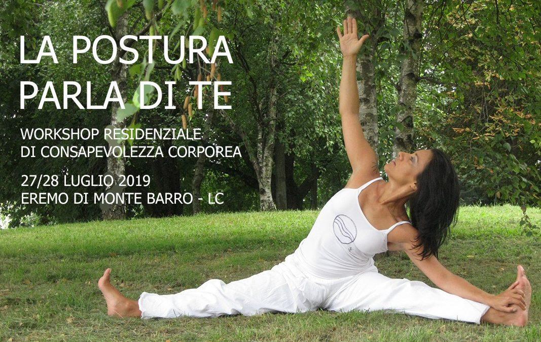 La postura parla di te – Workshop di consapevolezza corporea