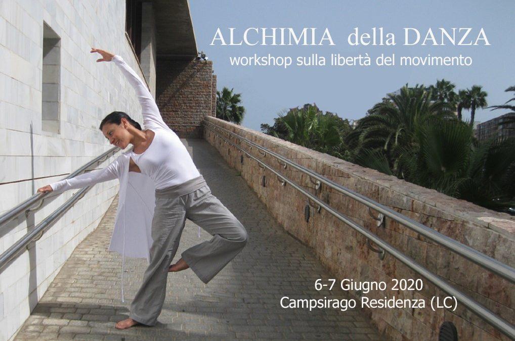 Alchimia della danza – Workshop sulla libertà del movimento